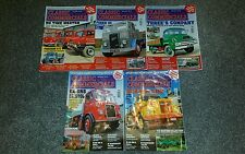 5x Classic & Vintage Commercials magazines March to July 2013