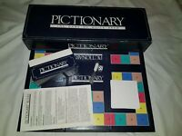 Pictionary Board Game, 1985 Blue Box Edition