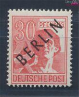 Berlin (West) 11 geprüft postfrisch 1948 Schwarzaufdruck (8717036