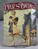 """alte Strumpfhose """" Prestige """" Größe 9 1/2 - 50er Jahre - unbenutzt + OVP  /S319"""