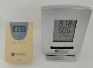 Oregon Scientific Radio Controlled Clock Cable Free Thermometer Model RMR112A
