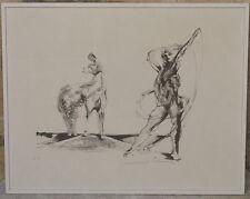 Bernard Jobin Lithographie EA Originale