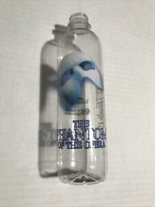 """PHANTOM OPERA Broadway WATER BOTTLE! Sold At Theatre Only! """"Disposable"""" / No Lid"""