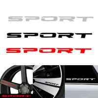4pcs Racing SPORT Car Rims Wheel Reflective Vinyl Decal Sticker Graphic Decor