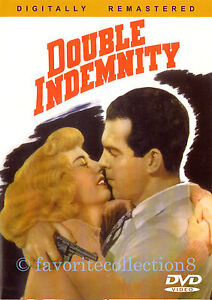 Double Indemnity (1944) - Fred MacMurray, Barbara Stanwyck (Region All)