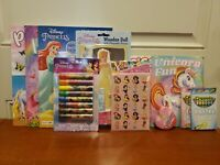 Princess Activity & Coloring Books, Stickers, Crayons, Markers Kids Ages 3 & Up