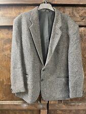 John Barran   Harris Tweed Jacket Chest UK 48ins 122cm   100% Pure wool  