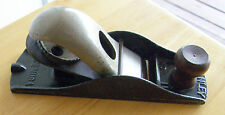ANTIQUE STANLEY WOOD PLANE #110 JAPANNED BLACK ENAMEL FINISH NICE ONE