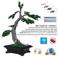 Lego Bonsai Custom Chinese Elm Instructions Japanese Pot Tree Plant Garden