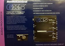 NEW Audio Control 6XS Concert Series 6-Channel Electronic Crossover