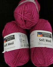(79 €/kg): 450 Gramm SOFT WOOL, Schachenmayr, Farbe: 0036 Pink  #1408