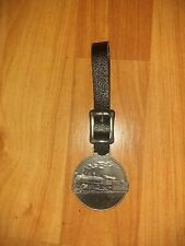 inch Watch Fob Unbranded Silver toned Vintage Prr Pennsylvania Rail Road 1 3/4