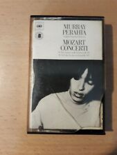 Mozart Concertos K491-K449 Murray Perahia Cassette Tape CBS Holland 1976 Very Gd