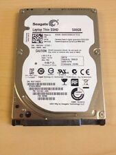 "Seagate ST500LM000 500GB 2.5"" Laptop Thin 7mm SSHD Solid State Hybrid Hard Drive"