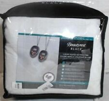 NEW Beautyrest Black 200 Thread Count Electric Mattress Pad, King  $280