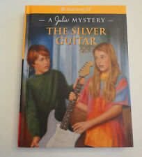 "American Girl JULIE RETIRED HARDCOVER MYSTERY BOOK ""THE SILVER GUITAR""  - NEW"