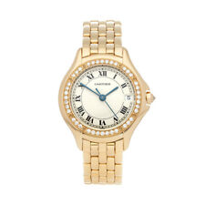 CARTIER PANTHÈRE COUGAR 18K YELLOW GOLD WATCH 2524 W5415