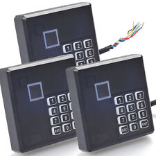 3pcs RFID Card Reader PIN Keypad Proximity For WG26 Network Access Control Board