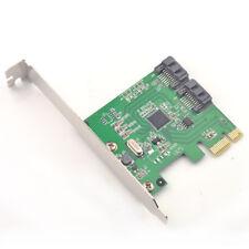 SATA3.0 Port Multiplier PCIe to 2x SATA 3.0 Adapter RAID 0,1 Marvell 88SE9128