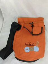Eagle Good To Go Knitting Bag Canvas Craft Tote