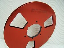 "New Studer Red 10.5"" Metal Aluminum Reel Reel-to-Reel for 1/4 Tape take up reel"