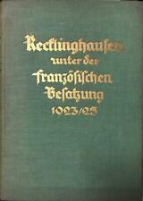 Recklinghausen französische Besatzung, Recklinghausen,  französische Besatzung