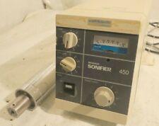 Branson Sonifier 450 Ultrasonic Cell Disruptor W Probe