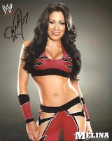 Melina ( WWF WWE ) Autographed Signed 8x10 Photo REPRINT