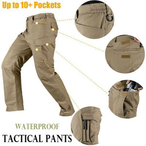 UK Mens Waterproof Outdoor Hiking Combat Trousers Tactical Regatta Combat Pants