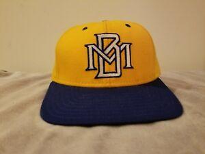 Milwaukee brewers vintage deLonge fitted hat pro model MLB baseball hat 7 1/8