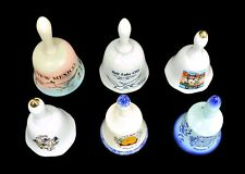Six Bells Porcelain Ceramic Collectible City and States