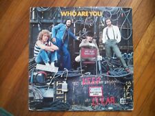 THE WHO---WHO ARE YOU----VINYL ALBUM