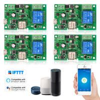 4PCS DC5V 12V 24V 32V Wifi Switch Compatible with Wireless Relay M0S7