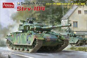 Amusing Hobby 1/35 35A043 Swedish Army Strv-104