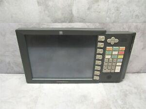 "NCR RealPOS 15"" POS LCD Touchscreen Monitor w/ Keyboard 5954-2501-9090 - GRAY"