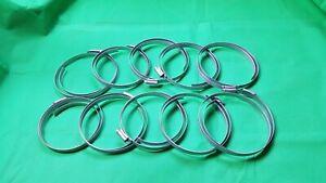 JUBILEE CLIP 10.5 MS Mild Steel 235-267mm width 13mm Hose Pipes clips 10 PCS