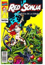 RED  SONJA    Nº  13      ( EDITORIAL FORUM )   MUY BUEN ESTADO.