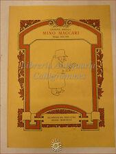 ARTE MODERNA: Appella, MINO MACCARI Disegni 1922-1978 Pesce d'Oro 1978 tirat lim