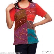 Handmade Cotton T-Shirts for Women