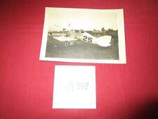 N°14378 /  photo argentique d'epoque avion de chasse AERO AE 0.4 HISPANO-SUIZA