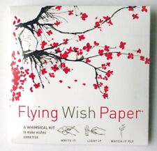 FLYING WISH PAPER Cherry Blossom Design on Sale