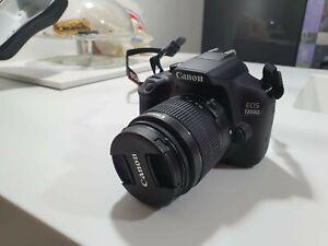 Fotocamera digitale reflex Canon EOS1300D + Cover rigida. Spedizione gratuita
