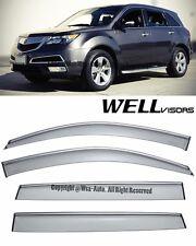 For 07-13 Acura MDX WellVisors Side Window Visors Premium Series Rain Guard