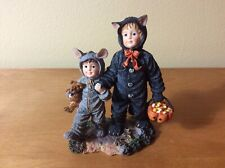 """Boyds #3585 * Yesterday's Child - """"Cathy and Miranda.First Trick or Treat"""".Nib"""