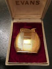 "Antique pocket cigarette lighter "" Evance , circa 1955 original box"