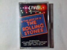 ROLLING STONES The best of live recording mc ITALY UNIQUE SIGILLATA RARISSIMA