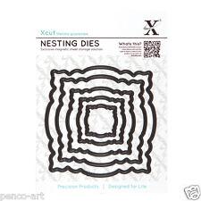 X cut 5 pc nesting dies ornate frames Use Xcut, sizzix, big shot machines