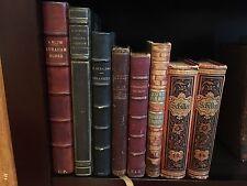 EACH BOOK $14.99 1800s and 1900s Antique Leather Book Lot - READ DESCRIPTION
