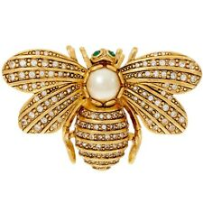 Our Goldtone Memory Bee Pin $118 Qvc Joan Rivers For ever in
