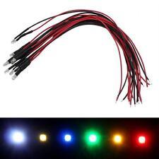 Superhelle LEDs mit Vorwiderstand ; versch. Farben ; 3mm 5mm ; LED Modellbau